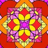Vierkantzonnen 001kleur