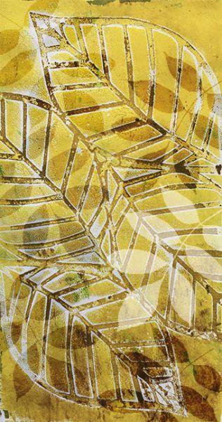 Bewerkt-Achtergrond-met-bladeren